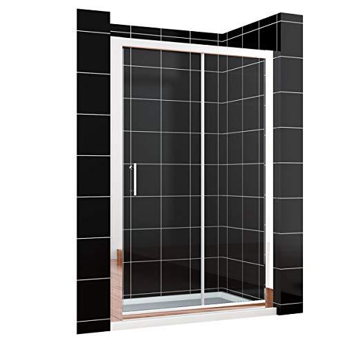 duschtrennwand eckeinstieg Duschkabine eckeinstieg Schiebetür Duschabtrennung 150x190cm Duschtür Duschwand aus 8mm NANO Glas