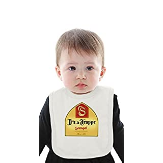 It's A Trappe Organic Bib With Ties Medium