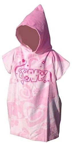 TWF pour enfants changement de serviette robe – Natation Surf – fille rose