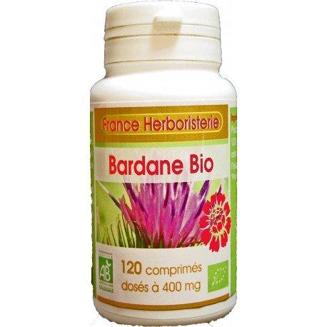 France Herboristerie - BARDANE racine BIO AB 120 comprimés dosés