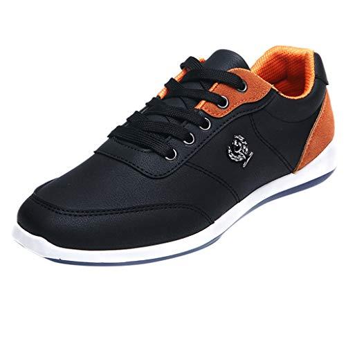 KIMODO® Herren Sneakers Walking Freizeitschuhe Badeschuhe Atmungsaktive Schnürschuhe Laufschuhe Sports Turnschuhe 6 Inch Stiletto Pumps
