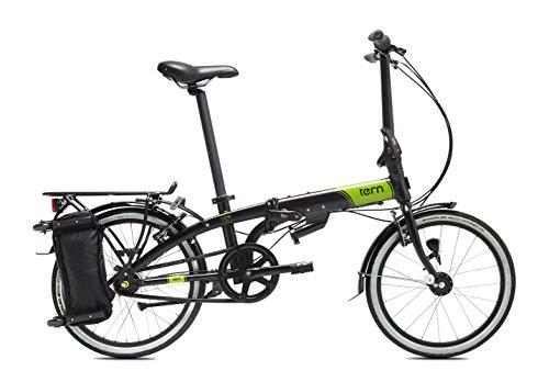 Tern Link D7i - Bicicleta, color negro