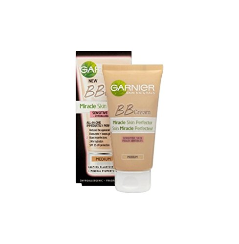 GARNIER 5 en 1 BB Crème Miracle Sensitive Médium
