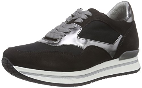 HIP D1011/162 Damen Sneakers Schwarz (10NU/10NY/91CO)