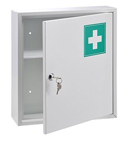 Haushalt International Medizinschrank aus Stahl - 31.5 x 10 x 36 cm