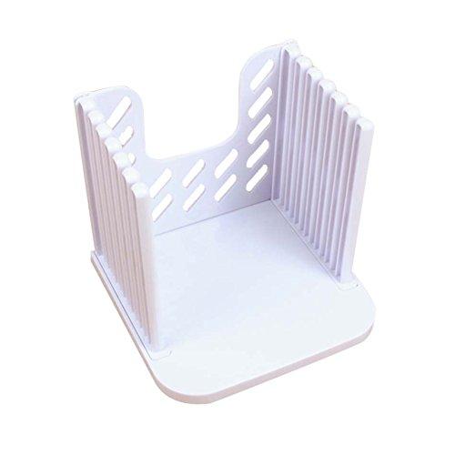 Laib Brot Slicer (Wildlead Kunststoff Spleißen Toast Brot Slicer Schneiden Guide Werkzeuge Laib Cutter Rack Schneiden Küche Zubehör Werkzeug)