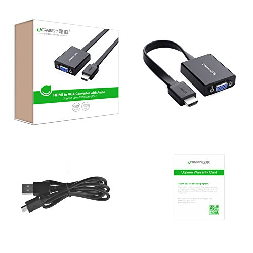 ugreen hdmi auf vga kabel adapter mein. Black Bedroom Furniture Sets. Home Design Ideas