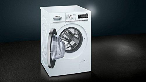 Siemens iQ700 WM14W570 Waschmaschine / 8,00 kg / A+++ / 196 kWh / 1.400 U/min / Schnellwaschprogramm / Nachlegefunktion / aquaStop mit lebenslanger Garantie / - 7