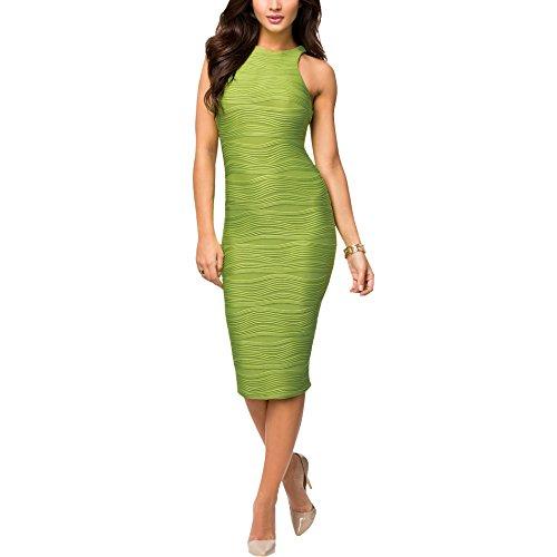 Coco Fashion - Robe - Cocktail - Femme Vert