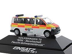 Reitze Rietze _ 51889Volkswagen T5BRK Schwarzenbruck/feuchten Maßstab 1: 87H0Druckguss Modell Set