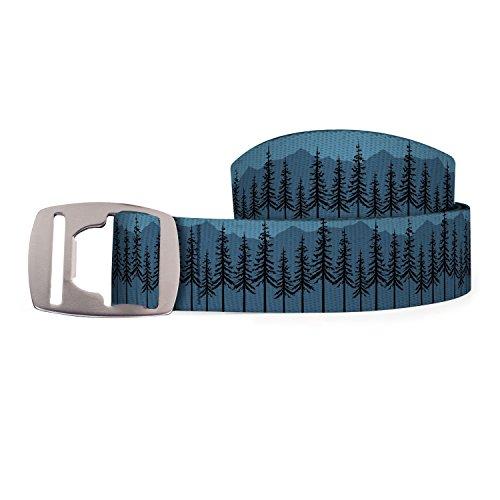 Croakies Artisan 2 Belt, Bottle Opener Buckle, Cascadia Twilight, 42 -