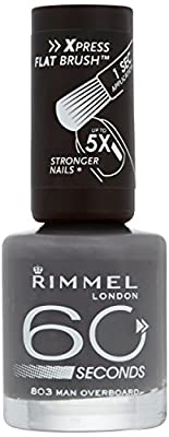 Rimmel 60 Seconds Nail Polish, Man Overboard by Rimmel