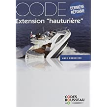 Code Rousseau code extension hauturière 2017