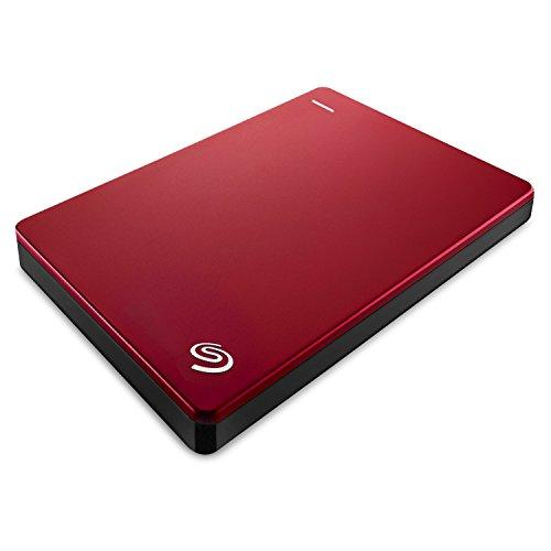 Seagate Backup Plus Slim STDR2000303 2TB Portable External Hard Drive (Red)