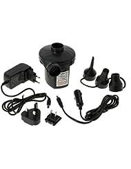 Elementerre PUMPELEC - Hinchador eléctrico, color negro, talla 12,5 x 11,5 x 10