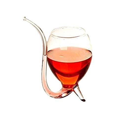 einglas Vampir Teufel Weinglas Cup Mit Tube Straw Saft Cup Weihnachtsgeschenk (Acryl Wein-gläser Bulk)