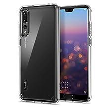 Spigen L23CS23989 Ultra Hybrid für Huawei P20 Pro Hülle Einteilig Transparent Handyhülle Durchsichtige Rückschale mit Silikon Bumper Schutzhülle Case - Crystal Clear