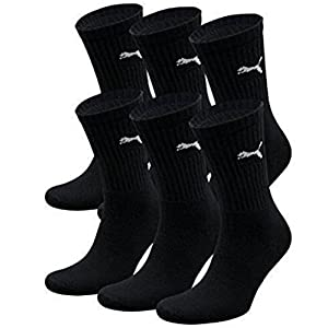 Puma – Unisex Sport Socken 3er Pack, Blau (Blau), 39-42