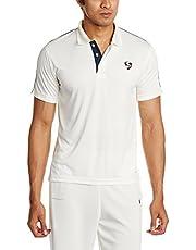 SG Century Half Sleeve Cricket Shirt (White)