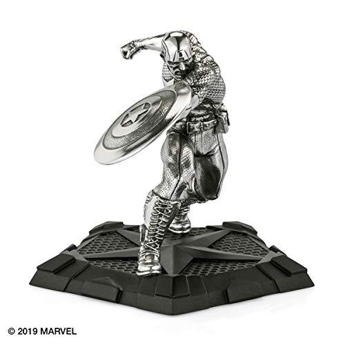 Captain America / Erster Rächer - Figur / Skulptur von Royal Selangor (Captain Weihnachten America)