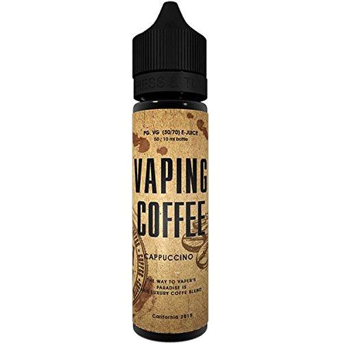 Cappuccino (50ml) Plus Vaping Coffee e Liquid by VoVan Nikotinfrei