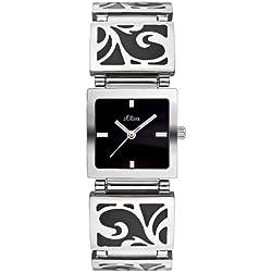 s.Oliver Damen-Armbanduhr SO-1784-MQ