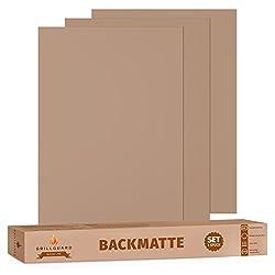 GRILLGUARD® Dauerbackfolie ohne Silikon - Das Original - 3er Set wiederverwendbar, spülmaschinenfest, antihaft 40 x 33cm
