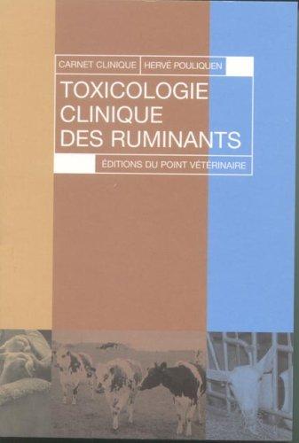 Toxicologie clinique des ruminants