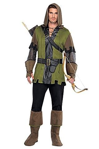 Homme Nouveau Prince des voleurs Robin robe médiévale