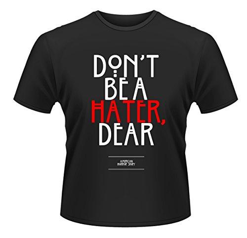 Plastic Head American Horror Story Hater-Camiseta Hombre Negro Negro X-Large