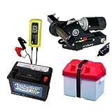 Wohnwagen-Rangierhilfe Enduro Mover EM203+ Batterie + Batteriekasten + Ladegerät