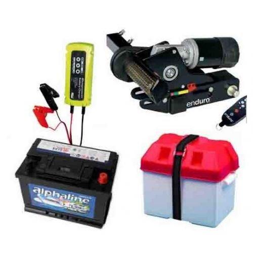 Preisvergleich Produktbild Wohnwagen-Rangierhilfe Enduro Mover EM203 + Batterie + Batteriekasten + Ladegerät