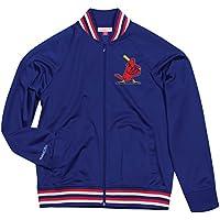 St. Louis Cardinals Mitchell & Ness MLB Men's Top Prospect Full Zip Track Jacket