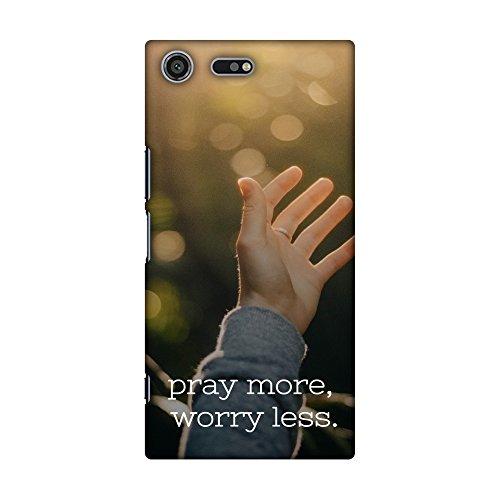 Amzer Slim-Fit, mit Designer-Schutzhülle/Hartschalenhülle/Rückseite für Sony Xperia XZ Premium Koran -