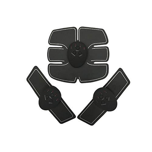 0 ℃ Outdoor Muskel Toner, Abdominale Workouts Fitness Portable Ab Machine Bauchstraffung Gürtel EMS Training ABS Trainer Wirless Muskelstraffung Bauch Übung ABS-Gürtel (Machine Abs Workout)