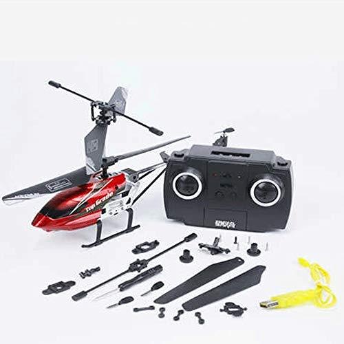 Mopoq Absturzsichere Legierung Fernbedienung Flugzeug Hubschrauber Aufladen Elektro Modell 3.5 Pass Typ Junge Kind Fernbedienung Spielzeug Eltern-Kind Interaktive Drohne Flugzeuge -