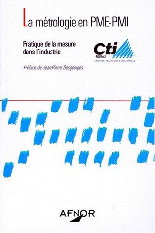 La métrologie en PME-PMI par Collectif