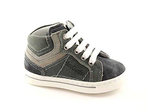 Black Jardins Junior 23520 bébés Chaussures Gris Espadrille mi Postal 20