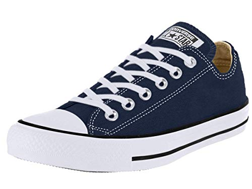 Converse Chuck Taylor All Star Season Ox, Zapatillas de Tela Unisex Adulto, Azul, 42.5 EU