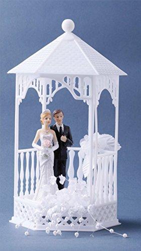 Tortenfigur Brautpaar im Pavillion Cake Company