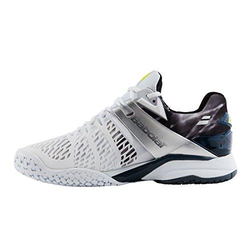 Pour homme Babolat Propulse Fury Chaussures de tennis blanc/noir