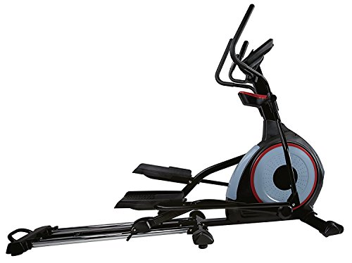 BODYCOACH Elliptical Crosstrainer 28280 Frontantrieb Ellipsentrainer - Bluetooth Fitness-App, USB, MP3, Brustgurt-Empfänger I Q Faktor 7,8 cm - Schwungmasse ca 15 kg – bis 150kg Körpergwicht
