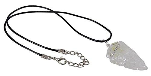 Harmonize Cristal Cuarzo Colgante Espiritual Locket Joyeria Reiki Healing Cristal Amuleto
