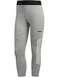 adidas D2m High Rise Cotton 3-Stripes Tight 3 4 Femme 3dc0ed13b6b
