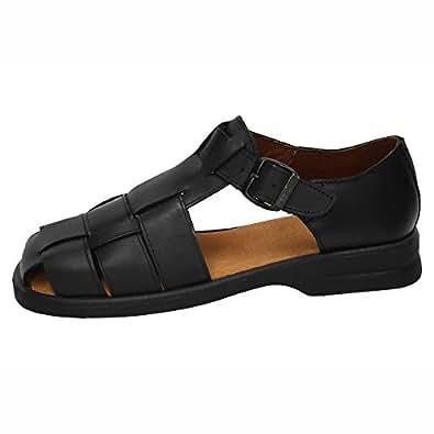 Made In Spain 34, Herren Sandalen, Schwarz - Schwarz - Größe: 46 EU