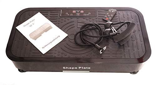 Shape Plate Vibrationsplatte SP-7 | oszillierende Vibrationen | Laufsimulation | 99 Intensitätsstufen | 200W Motor | leise und platzsparend