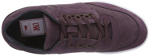 Lacoste Herren Indiana 316 2 G Sneaker lila (DK PURP/NVY)