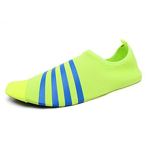 Santiro Unisexe Chaussures de Sport Aquatique Chaussons de Surf / Plong¨¦e / Plage Piscine Beach Natation Gym Yoga Les Amants de Skin Shoes.SSD010G1-L