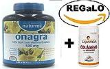 Aceite de Onagra 450 perlas de 510 mg de Obire + Vitamina E, de regalo un colágeno de Ana Maria la...