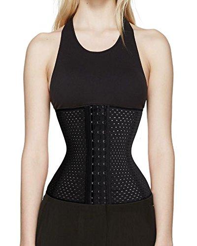 Taille-Trainer-Korsett-Gewicht-Verlust-Sport-fetter Brenner-Körper-Former-langer Torso (3XL, (Kostüme Billig Shaper Body)